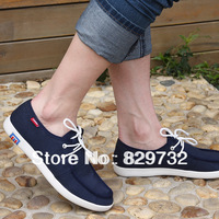 Free shipping B.d spring and autumn male lacing shoes breathable wear-resistant cotton-made shoes boat shoes fashion