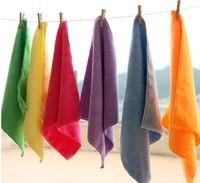 10pcs/lot 25cmx25cm Microfiber Car Cleaning Towel Microfibre Detailing Polishing Scrubing Waxing Cloth Hand Towel,Free Shipping