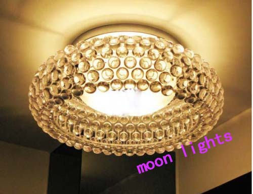 Supernova sale modern lustre crystal lampshade Acrylic Ball ceiling lamp,1 lights Dia 65cm Free shipping(China (Mainland))