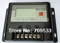 12V/24V 10A LCD Display solar power controller solar  charge controller with LCD display