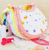 Hot sale new born babys bib multi color hight quantity 10 pieces/lot free shipping CL0007