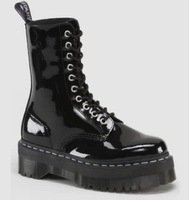 Free Shipping DR  30mm MARTENS Jadon Calfskin Double Sole Boots thick crust Martin boots size 35-44