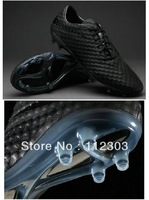 Good Quality TPU Venom Outdoor Cleats Soccer Shoes Men's 2014 Hotsale Team Sports Boots Fashion Black Best Quality Dropshipping