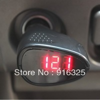 NEW LED Display Cigarette Lighter Electric Voltage Meter For Auto Car Battery