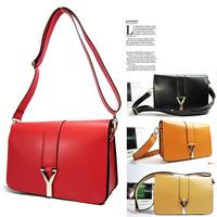 Classic Fashion Messenger Bags Women Handbag,Y Bag,Purses,4 Colors Factory Direct Selling