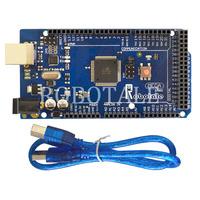 Freeshipping ! ROBOTALE  Mega 2560 R3 mega 2560 REV3 ATmega2560-16AU Board + USB Cable compatible for arduino
