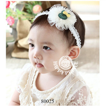 Hot selling cheap nice thin band multi color rabbit shape cute baby hair band  wholesale