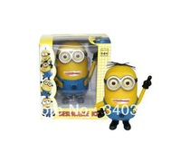 New Product!!Despicable ME 2 Minion Jorge Stewart Dave Movie Minions Doll Model,Funny Toy,Best Gift,High Quality,FREE SHIPPING