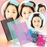 50 pcs/ Lot Hair Accessory Magic Bangs Hair Posts Paste Make-up Hair Fringe Stickers J013