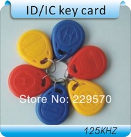 100PCS /125Khz RFID Proximity ID Card Token Tags Key Keyfobs for Access Control Time Attendance