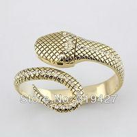Free shipping 2013 New Design Woman's Imitated Diamonds Dress Watch Creative Snake Design Clock  Actually Image Quartz Hour