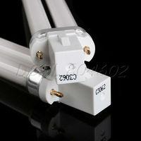 4 X U-shape Nail Art 9W UV Gel Curing Dryer White Light Lamp Tube Bulb