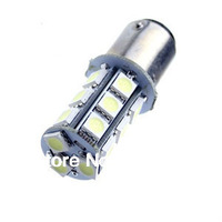 free shipping 10pcs 18 SMD LED 5050 1157 BA15D Back up Reverse Turn Signal Brake Daytime Lights Light BULB Lamp White 12V