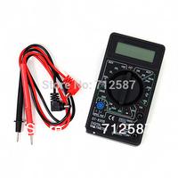 AC/DC Ammeter Voltmeter Ohm Electrical Tester Meter Professional Digital Multimeter DT830B Free Shipping 8036