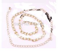 Women's Fashion  Pearl & Metal Belt,  Dress Decoration Chain , FREE SHIPPING YL022