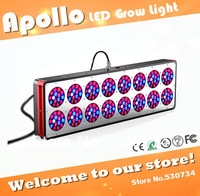 Hot sale! 240*3W Apollo 16 LED grow light, 3w led grow light chip, works well with any indoor garden, hydroponics or soil based