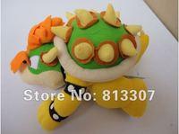 """Wholesale 5pcs/Lot Super Mario plush toys 10"""" int Koopa Bowser dragon plush doll Brothers Bowser soft Plush Free Shipping"""