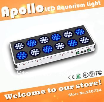 Apollo 12 144*3W led aquarium lighting,3 watt led chip aquarium lights