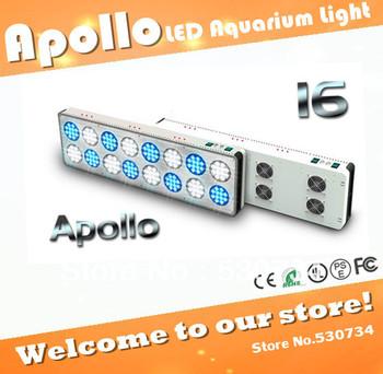 Apollo 16 192*3W LED aquarium lamp for saltwater reef, high power led aquarium panel light