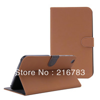 Luxury High Quality Retro Enland Business Style Smart Flip Case for Samsung Galaxy Tab 3 8.0 T310 T311 Tab 3 Case Free Shipping