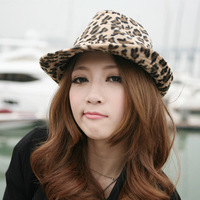 Free Shipping Quality Leopard Hat for Men and Women with Fashionable Leopard Print Cap Design For Sale 3 Colors Option Women Hat