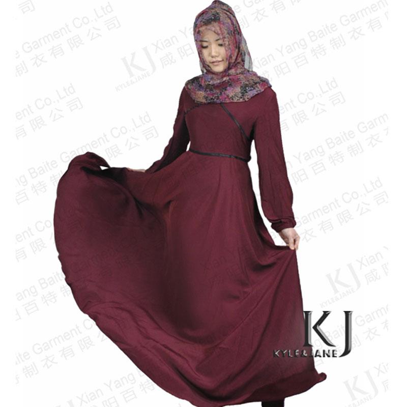 2014-Womens-Beautiful-Elegant-Islamic-Wear-Abaya-Jilbab-Hijab-Muslim ...