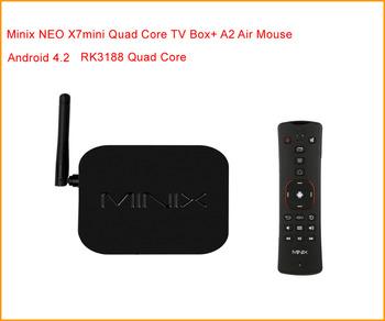 [Minix A2 Air Fly Mouse] Minix NEO X7Mini RK3188 Quad Core XBMC Bluetooth Android 4.2.2 Miracast TV Box Media Player 2GB/8GB