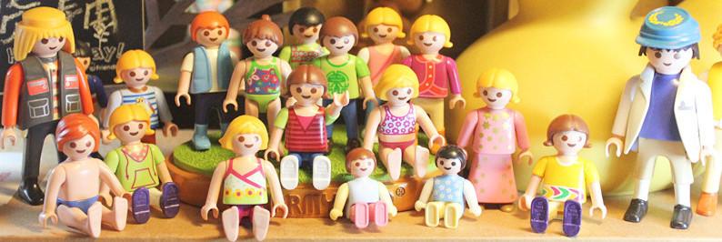 Playmobil free shipping 10pcs lot toy game paddle pop mobi dolls
