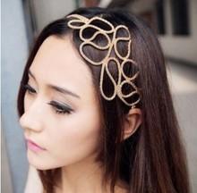 gold braided headband price