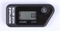 IP68 waterproof Resetable   Motorcycle  hour meter  for motorcycle , ATV,Chain saw , lawn mower