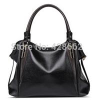 Hot ! 2015 New Women Handbag Cow split leather Bag Stitching Shoulder Bag Fashion Women Leather Handbag Casual Tote Vugue Bolsas