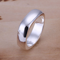 Free Shipping!Wholesale 925 Silver Ring,925 Silver Fashion Jewelry No word Quartet Ring SMTR004
