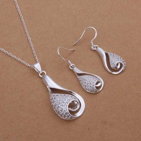 Free Shipping!925 Silver Jewelry Set,Fashion Sterling Silver Jewelry  SMTS361