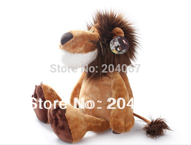 "NICI Lion Stuffed Doll Plush Jungle Series Animal TOYS 25CM OR 10"" FREE SHIPPING On Sale(China (Mainland))"