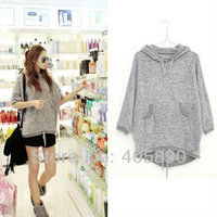 2013 Hot Style Big Yards Loose Bat Sleeve Super Soft Suede Long Paragraph Sweater