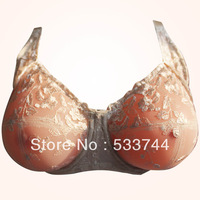Super sex mastectomy bras with pocket for silicone breast forms in big E F G cup