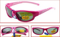 2014 New Fashion Children Baby Kids Student Boy Girls Anti-UV 400 Sunglasses TR90+Silicone Polarizer Cool Protection Sun Glasses