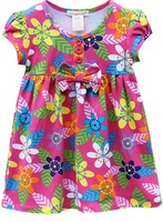 New baby flower dress Spring and summer brief one-piece princess dress free shipping