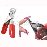 Portable Stainless steel Nail Art Edge Cutter Cuticle Remover Nail Clipper