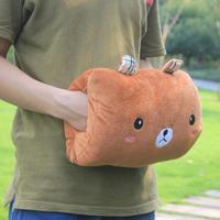 Cartoon animal hand po pillow cushion hand warmer muff hand rest warm gloves