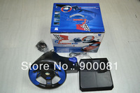 Steering wheel for PC/PS2/PS3 (3 In 1)+Free air parcel