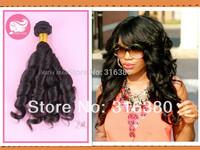 Prida hair Cheap Aunty Funmi Hair Malaysian human hair extensions romance curl funmi human hair spring roll curl,10inch-28inch