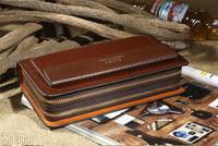 2014 classic design brand cowhide men wallet genuine leather purse business men's clutch bag Top quality