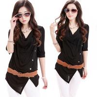 2014 new Promotions hot trendy cozy women blouse shirts jacket T-shirt Fashion retro