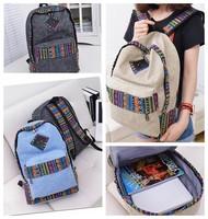 New Women Holiday Canvas Backpack Rucksack Backpack Satchel School Bag Cool Bags