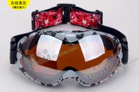 Ski Goggles Snow  Snowboard Multip-Color/Dual Lens UV-Protection Anti-Fog Winter Ski Goggles Glasses Free Shipping