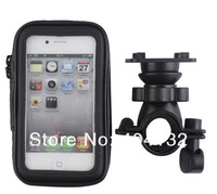 100PCS Universal Bike Bicycle Waterproof  Phone Bag Case Mount Holder For iPhone 4 4S Stand