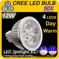 12W/15W/9W Spot light LED Bulbs High Power GU10 MR 16 SMD Day/Warm White Lamps