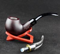 10 Tools Gift Set Rosewood Smoking Pipe 9mm Filter Smoking Pipe 2 Mouth Part Smoking Pipe Set HW-900P