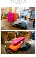 Free Shipping  1000pcs/lot  Credit Card Identity Card Holders Cash Purse Passport Pouch Travel Bag Card Bag Passport 4 colors